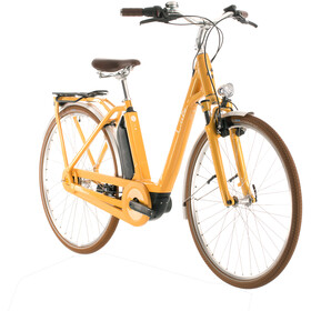 Cube Ella Cruise Hybrid 400 Easy Entry yellow/white